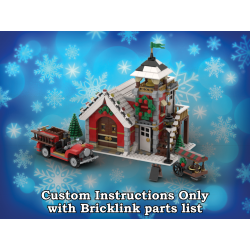 Winter Village Firehouse