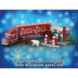 Winter Village Cola Truck