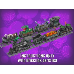 Halloween Village Train