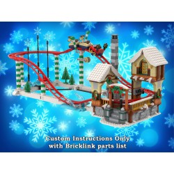 Winter Village Roller Coaster