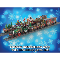 Six Custom Cars for the Winter Holiday Train
