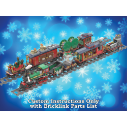 Six MORE Custom Cars for the Winter Holiday Train